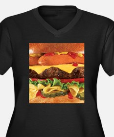 hipster burger Plus Size T-Shirt