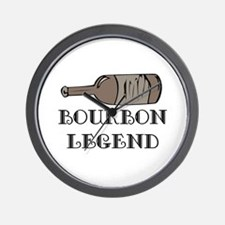 BOURBON LEGEND Wall Clock