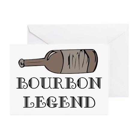 BOURBON LEGEND Greeting Cards (Pk of 20)