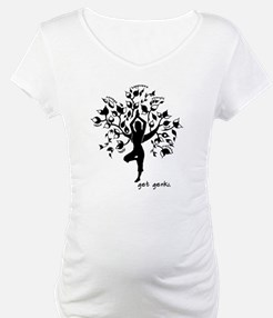 Cute Yoga tree pose Shirt