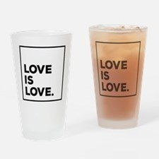 Unique Equality Drinking Glass