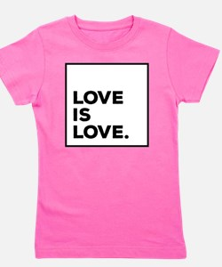 Unique Equality Girl's Tee