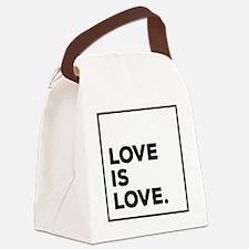 Unique Equality Canvas Lunch Bag