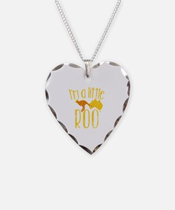 Cute Joey Necklace Heart Charm