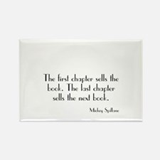 Mickey Spillane Quote Rectangle Magnet