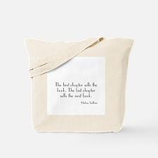 Mickey Spillane Quote Tote Bag