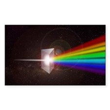 Space Prism Rainbow Spectrum Decal