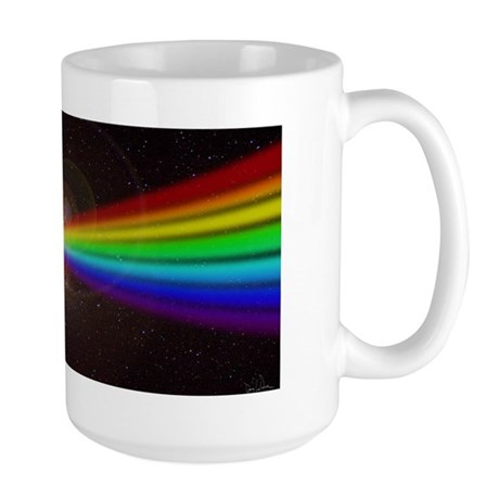 Space Prism Rainbow Spectrum Large Mug