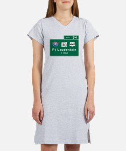 Cute Interstate Women's Nightshirt