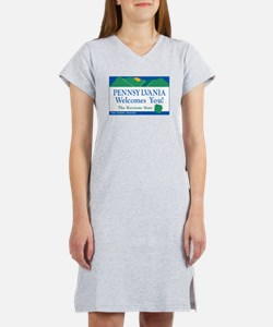 Cute Pennsylvania Women's Nightshirt