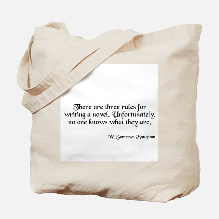 W. Somerset Maugham Quote Tote Bag