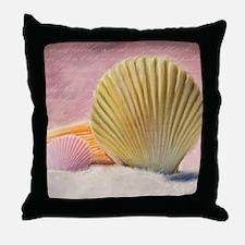 Vintage Shells Throw Pillow