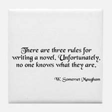 W. Somerset Maugham Tile Coaster
