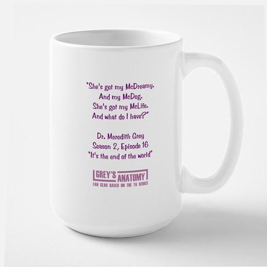 SHE'S GOT MY... Large Mug