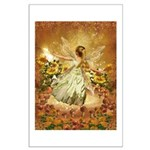 Fairy girl in fairy ring Posters
