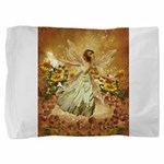 Fairy girl in fairy ring Pillow Sham