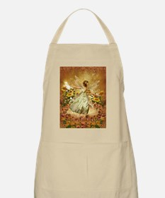 Fairy girl in fairy ring Apron