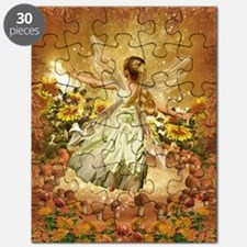 Fairy girl in fairy ring Puzzle