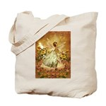 Fairy girl in fairy ring Tote Bag