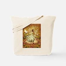 Fairy girl in fairy ring Tote Bag