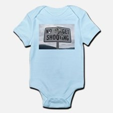 SIGN - NO TARGET SHOOTING Body Suit