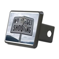 SIGN - NO TARGET SHOOTING Hitch Cover