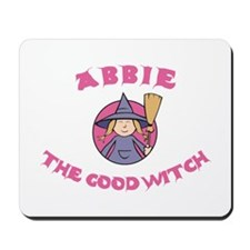 Abbie the Good Witch Mousepad