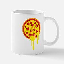 Pepperoni dripping pizza Mugs