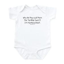 terrible two's Infant Bodysuit