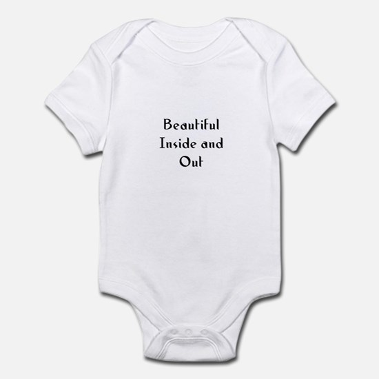 Beautiful Inside and Out Infant Bodysuit