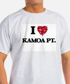 I love Kamoa Pt. Hawaii T-Shirt