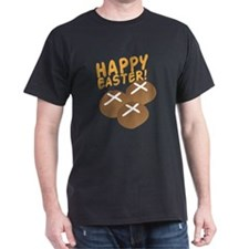 HAPPY EASTER with hot cross buns T-Shirt