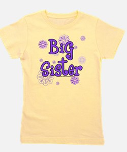 Cute Big sister Girl's Tee