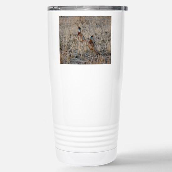 Pheasants Travel Mug