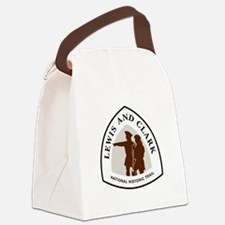 Lewis and Clark National Trail Canvas Lunch Bag