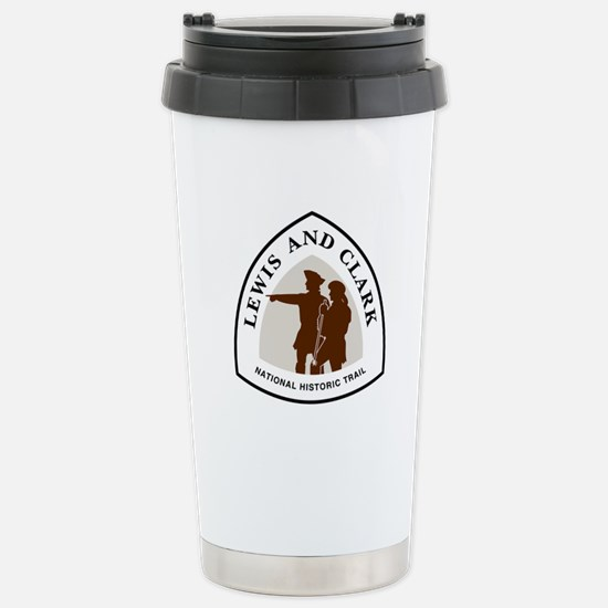 Lewis and Clark Nationa Stainless Steel Travel Mug
