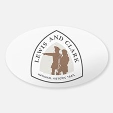Lewis and Clark National Trail Decal