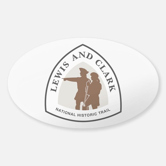 Lewis and Clark National Trail Sticker (Oval)