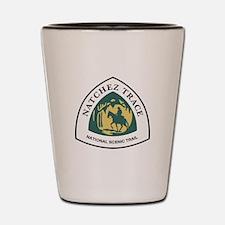 Natchez Trace National Trail, Mississip Shot Glass