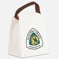 Natchez Trace National Trail, Mis Canvas Lunch Bag