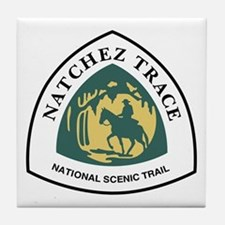 Natchez Trace National Trail, Mississ Tile Coaster