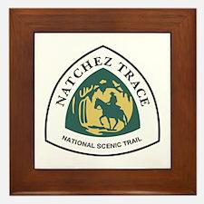 Natchez Trace National Trail, Mississi Framed Tile