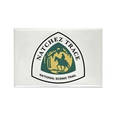 Natchez Trace National Trail, Mis Rectangle Magnet