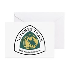 Natchez Trace National T Greeting Cards (Pk of 10)