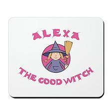 Alexa the Good Witch Mousepad