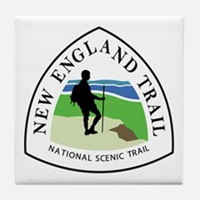 New England National Trail Tile Coaster