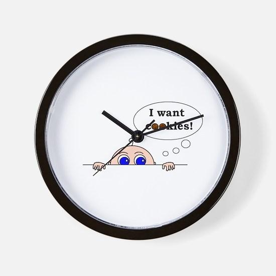 COOKIES! Wall Clock
