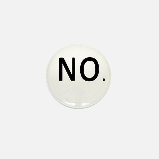 No.jpg Mini Button
