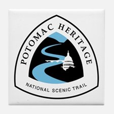 Potomac Heritage National Trail Tile Coaster
