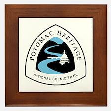 Potomac Heritage National Trail Framed Tile